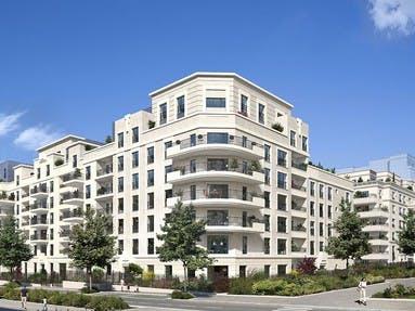 Le programme immobilier neuf Rue Pablo Picasso bâtiment B à Saint-Ouen