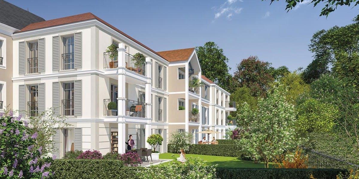 Avenue Lecomte à Villiers-sur-Marne : jardins