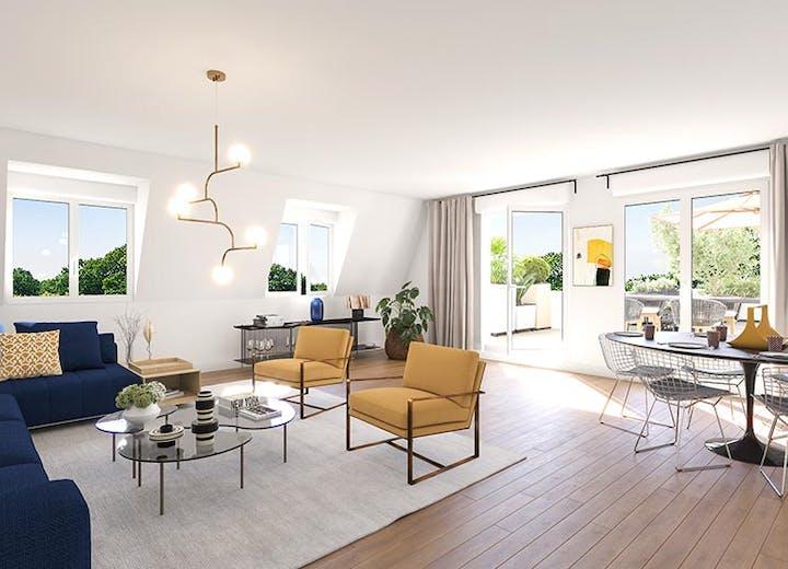 Prestations d'un appartement neuf du programme immobilier Place du Garde à Clamart