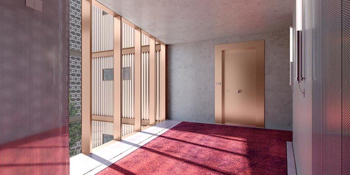 Palier d'étage du programme immobilier neuf Ateliers Vaugirard chapitre 1 à Paris 15