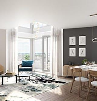 "Appartement duplex du programme immobilier neuf à Ivry-sur-Seine ""11 Rue Galilée"""