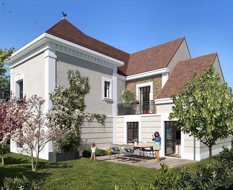 Maison du programme immobilier neuf Place du Garde à Clamart
