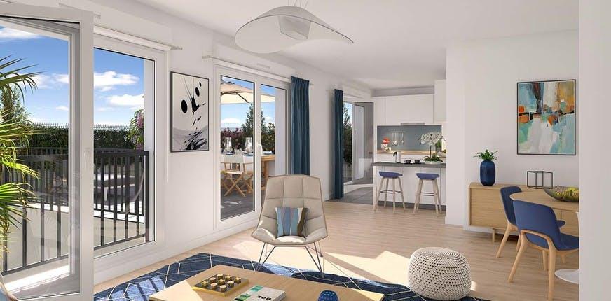 Appartement neuf du programme immobilier 4 boulevard Carnot à Alfortville