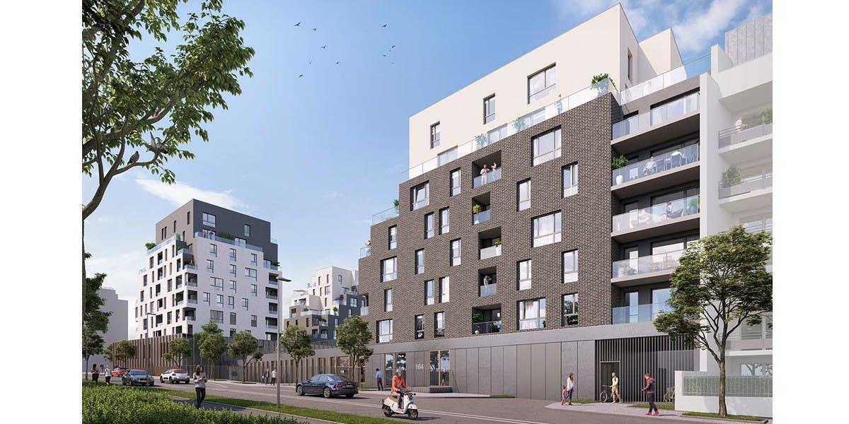 Programme immobilier neuf 164 Gabriel Péri à Rosny-sous-Bois