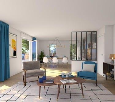 Appartement du programme immobilier neuf Rue Edouard Renard à Pantin