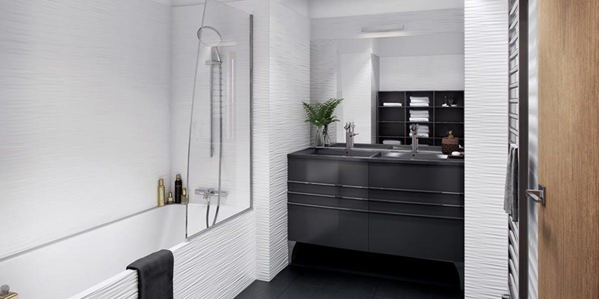 Programme immobilier Rue Agrippa d'Aubigné à Paris 4 : salle de bains