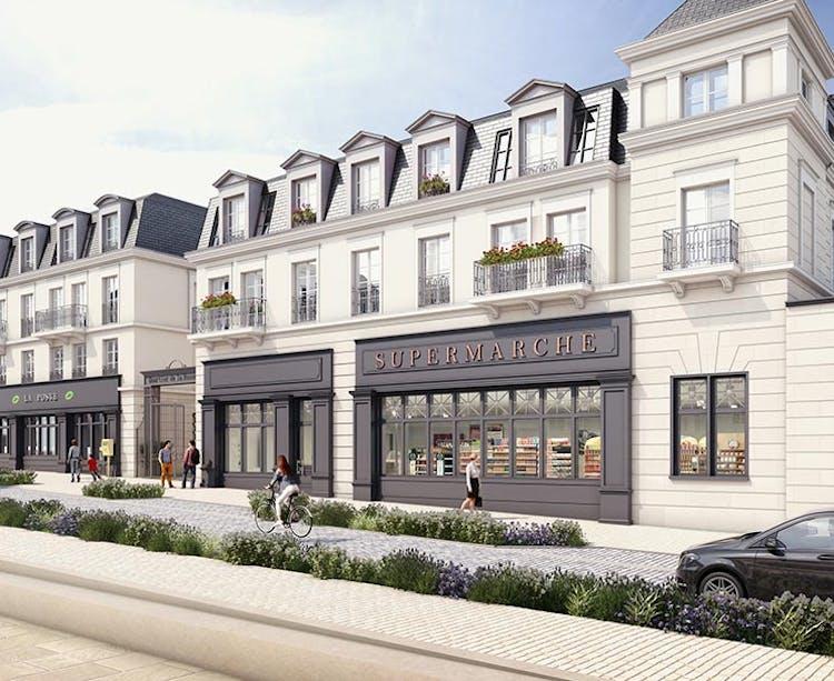 Quartier de la Roseraie Programme immobilier neuf Quartier de la Roseraie à L'Haÿ-les-Roses à L'Haÿ-les-Roses MEDIAS