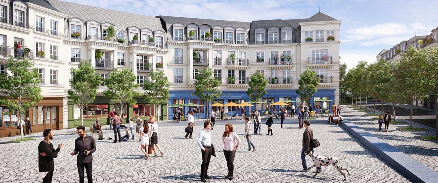Quartier de la Roseraie à L'Haÿ-les-Roses
