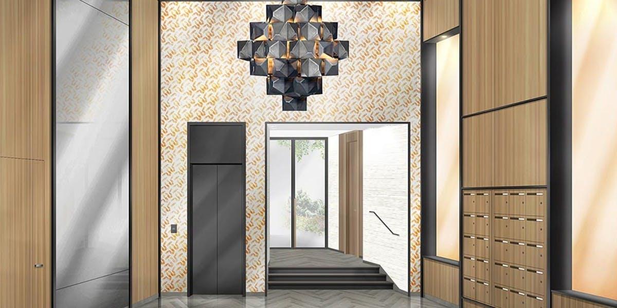 Hall d'entrée du programme immobilier neuf Quartier des Arts à Puteaux