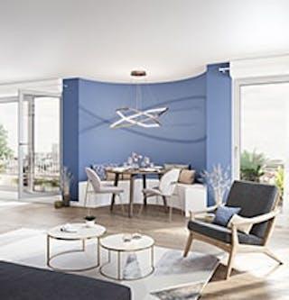 """Appartement du programme immobilier neuf à Ivry-sur-Seine """"11 Rue Galilée"""""""