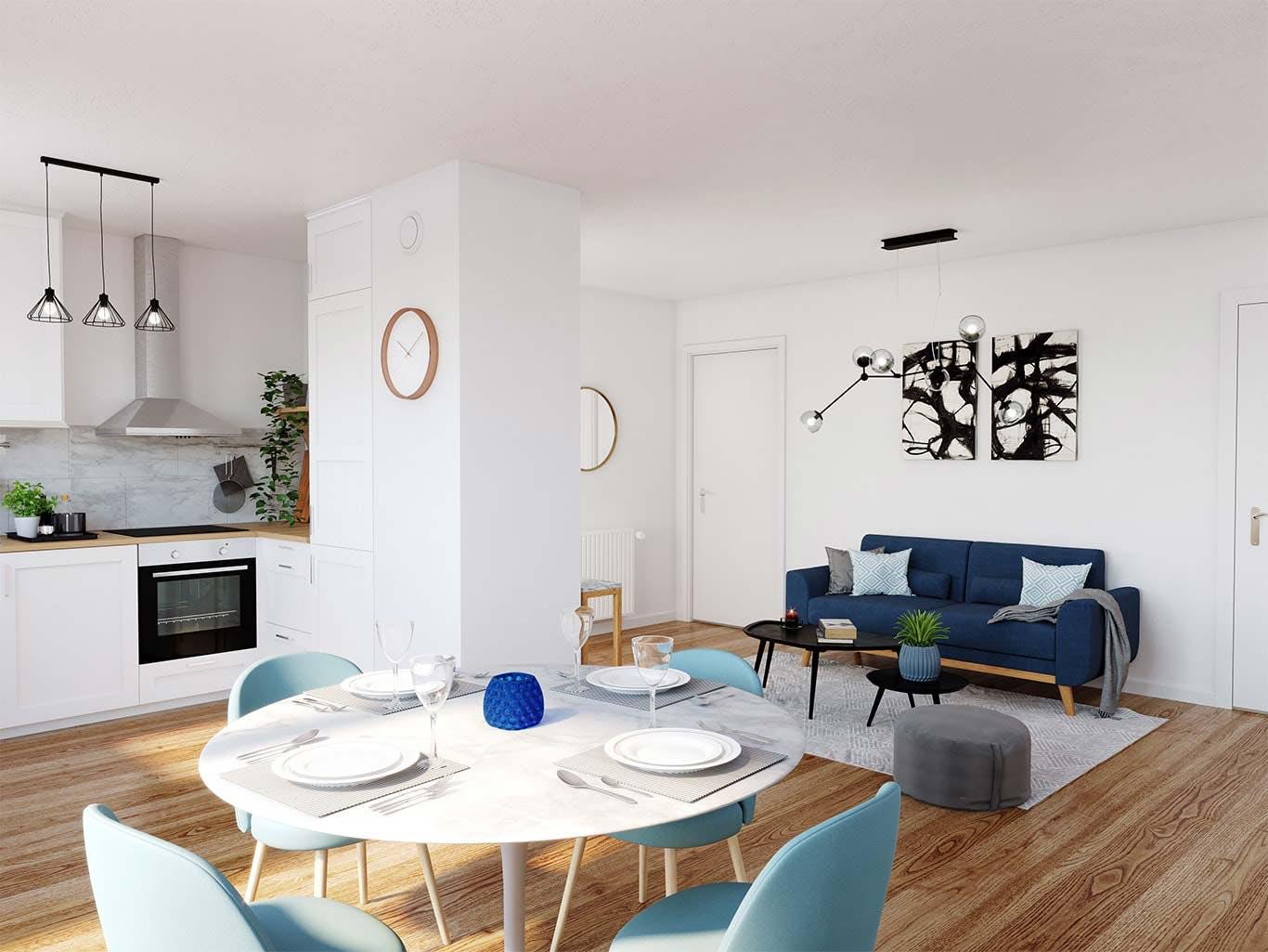 Variations à Vitry : appartement