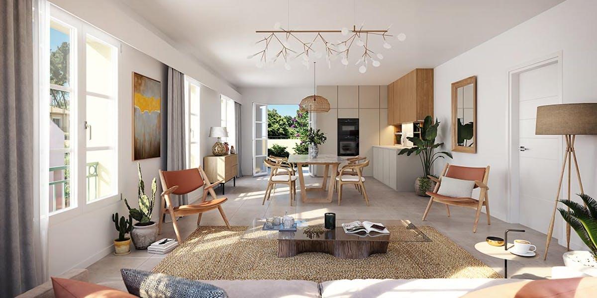 """Appartement du programme immobilier neuf au Rouret """"Chemin des Comtes de Provence"""""""