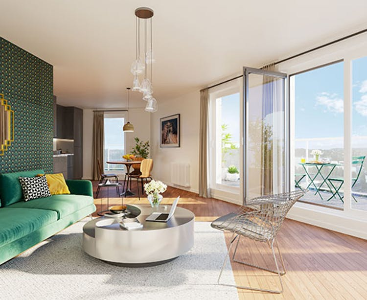 Appartement du programme immobilier neuf 6 Rue Paul Héroult à Rueil-Malmaison