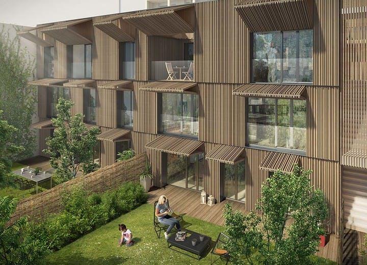 Architecture du programme immobilier neuf 7 rue de Tolbiac à Paris 13