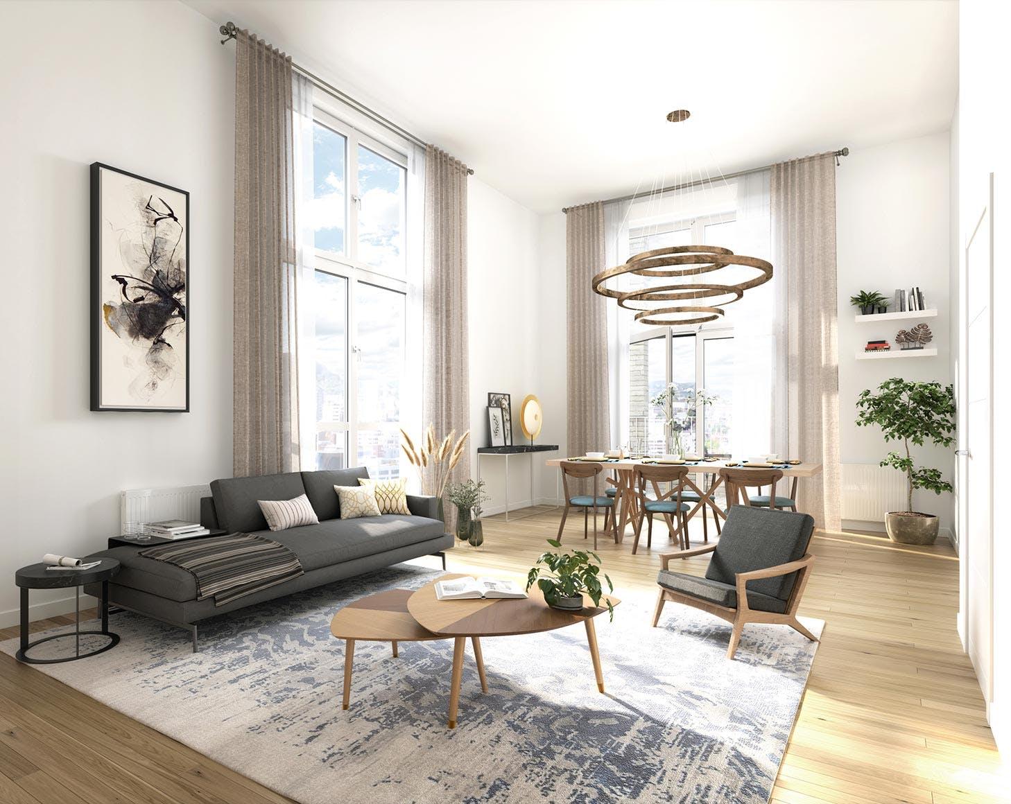 Appartement 3 pièces du programme immobilier neuf Allée du Colonel Fabien à Nanterre