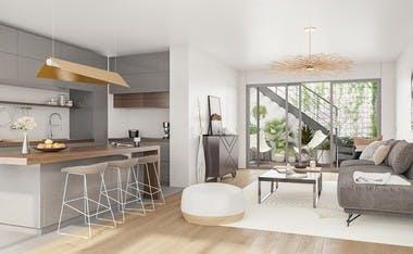 Appartement neuf de la résidence Passage Oberkampf à Paris 11