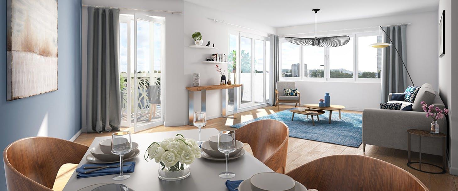 Appartement du programme immobilier neuf 1 Marcel Sembat à Saint-Denis