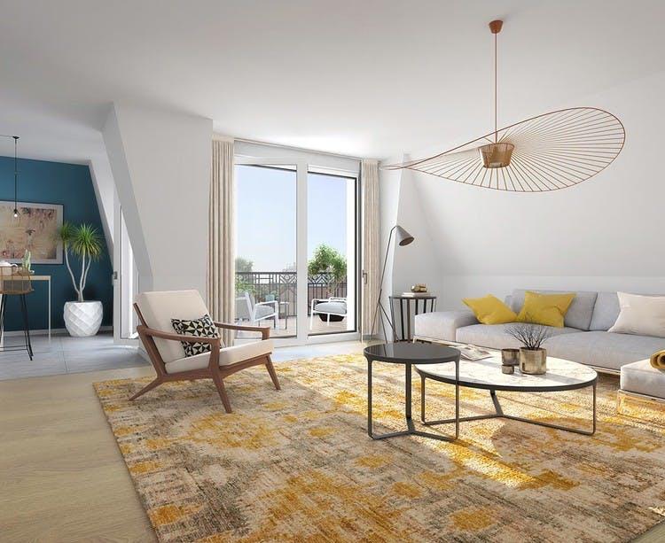 31 rue Fernand Forest à Suresnes : appartement au 3e étage
