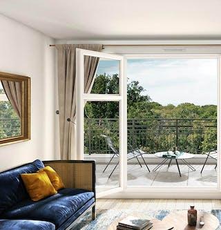 """Appartement du programme immobilier neuf à Châtenay-Malabry """"Route du Plessis Piquet"""""""