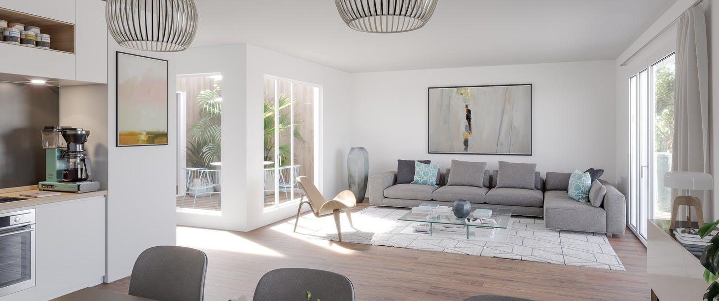 Programme immobilier 7 rue de Tolbiac à Paris 13 : appartement