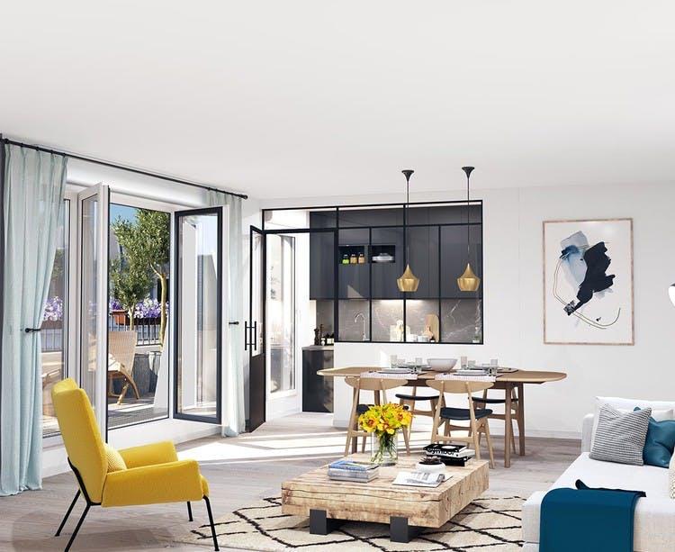 Canal Avenue à Clamart : appartement