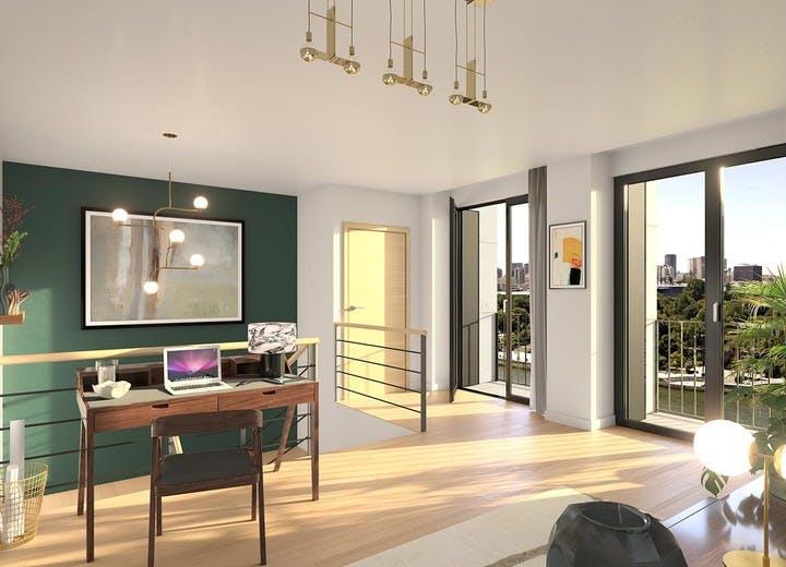 Programme immobilier Rue Agrippa d'Aubigné à Paris 4 : bureau