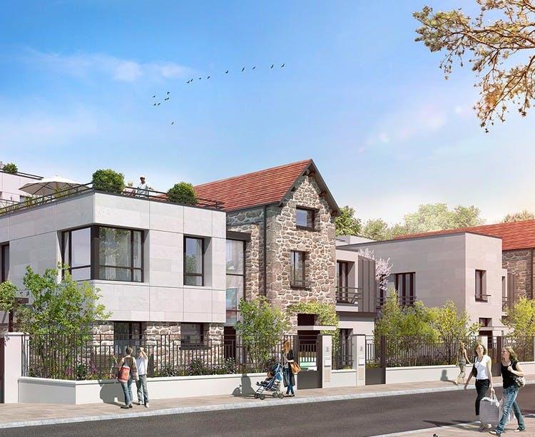 Maisons du programme immobilier neuf 60 Avenue Didier à Saint-Maur