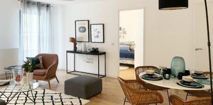 Clamart Allée de Meudon : appartement témoin