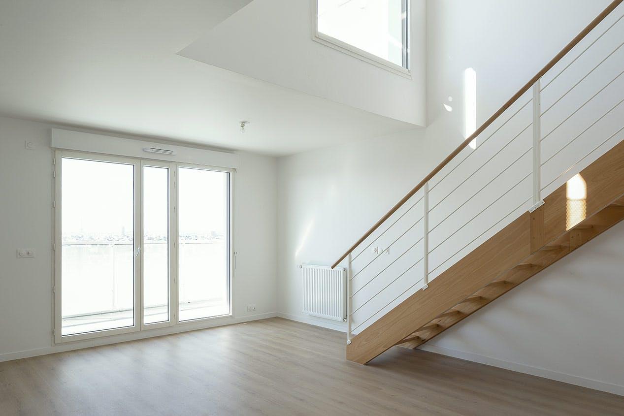 Appartement duplex du programme immobilier neuf Trilogie à Asnières-sur-Seine