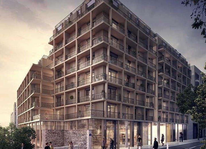 Emplacement du programme immobilier neuf 7 rue de Tolbiac à Paris 13