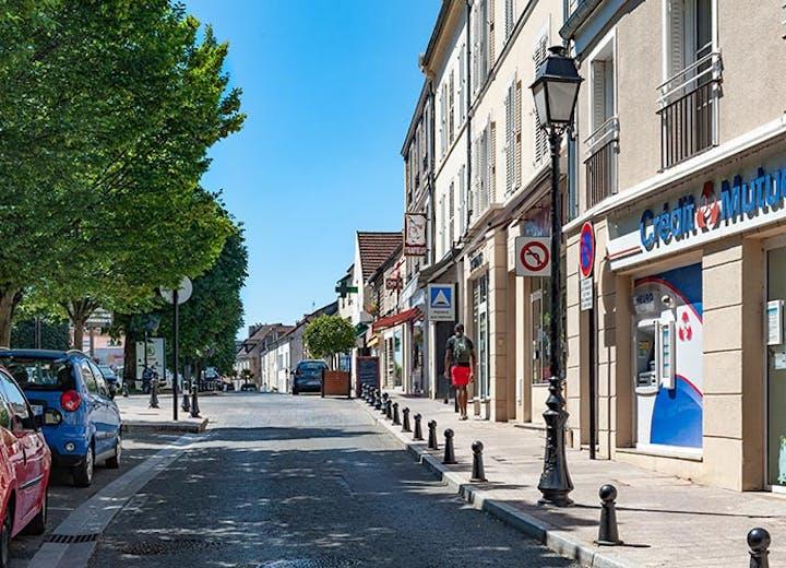 Commerces de la Rue de Paris à Palaiseau