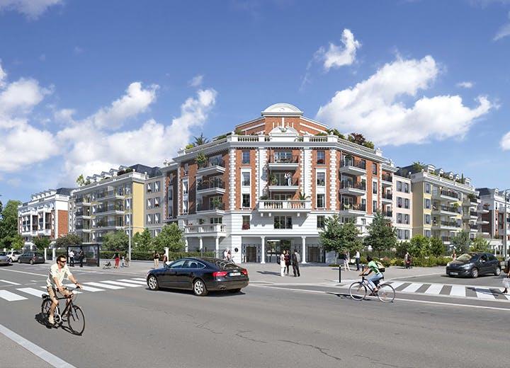 Le programme immobilier neuf 102 avenue Aristide Briand au Blanc-Mesnil