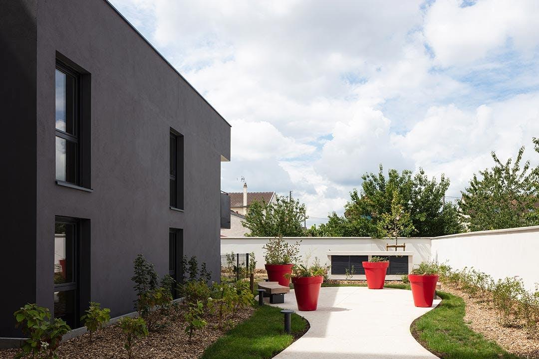 Jardin du programme immobilier neuf à Bezons 31-33 Avenue Gabriel Péri