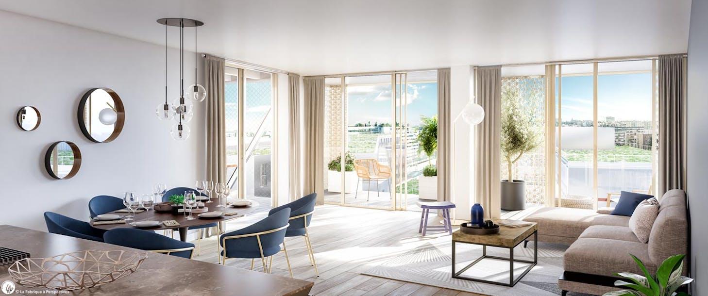 Appartement du programme immobilier neuf Ateliers Vaugirard chapitre 1 à Paris 15