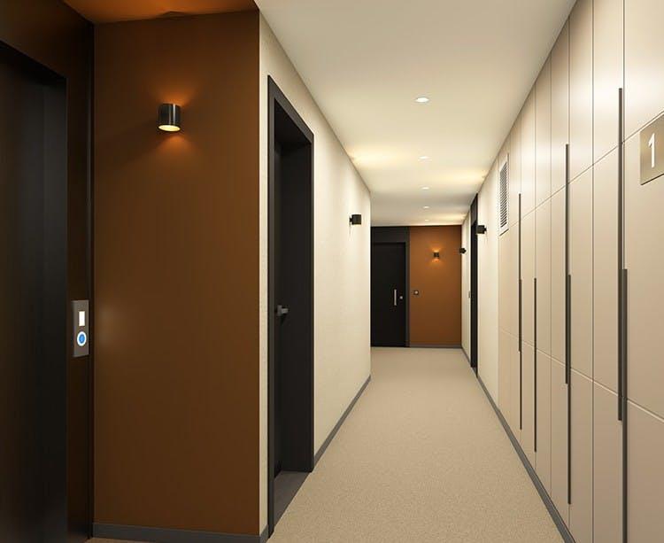 Palier d'étage du programme immobilier neuf Paris Canal - 165 Rue de Paris à Bobigny