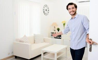Exemple d'appartement meublé