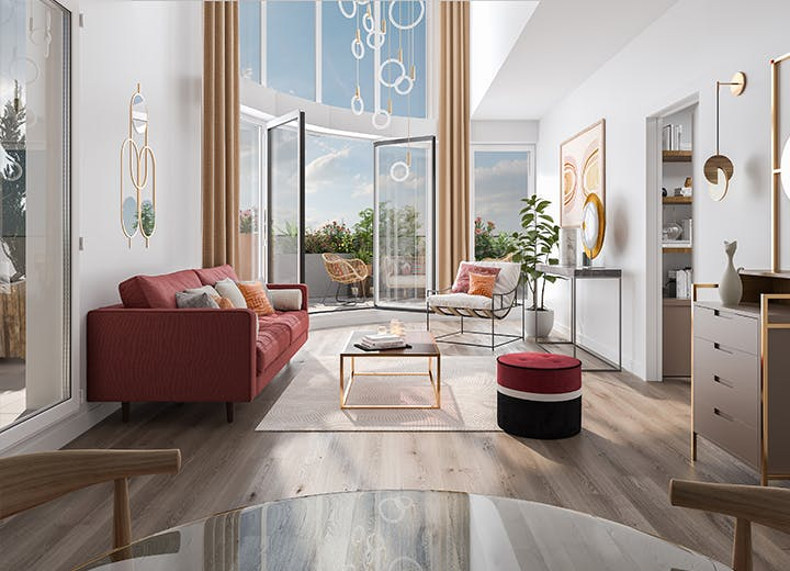 Appartement duplex du programme immobilier neuf à Hay-les-Roses