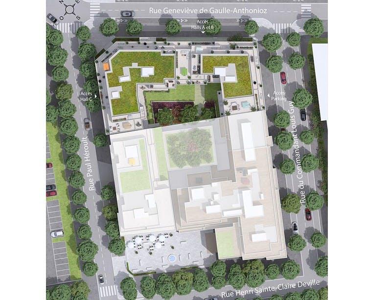 6 Rue Paul Héroult à Rueil-Malmaison : plan masse