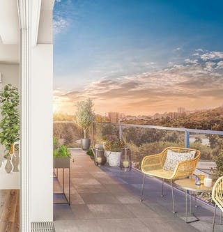 Appartement neuf avec terrasse à vendre à Rosny