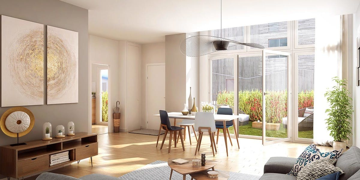 14 Ornano à Saint-Denis : appartement