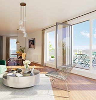 Appartement du programme immobilier neuf à Rueil-Malmaison 6 Rue Paul Héroult