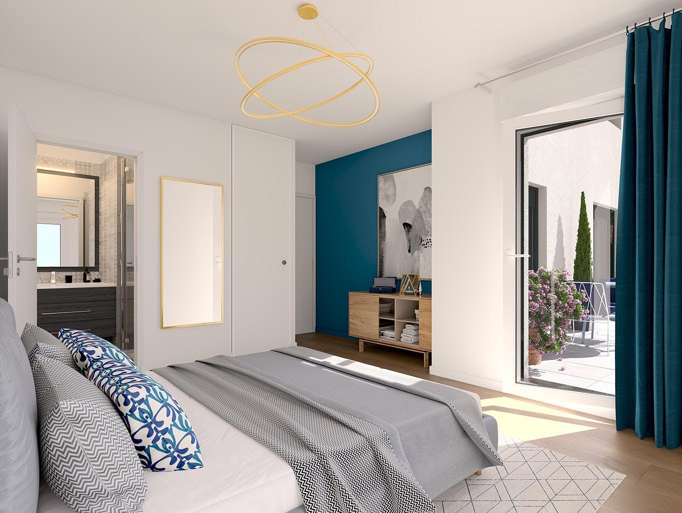 Vogue à Saint-Ouen : chambre