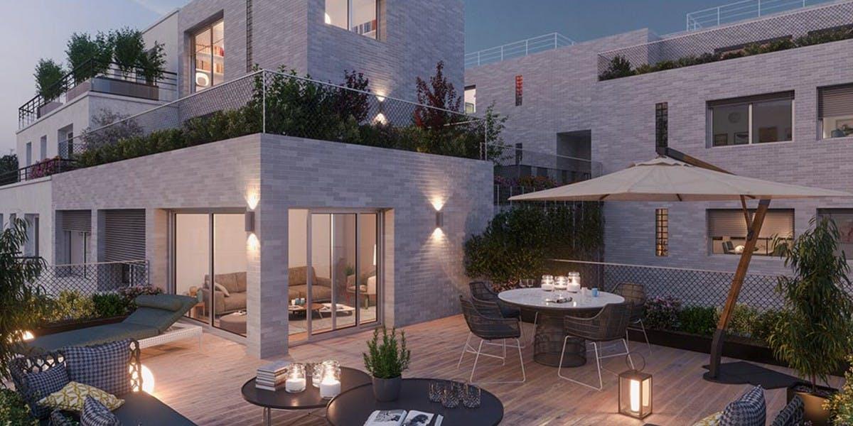 12 Popincourt à Paris 11 : terrasse