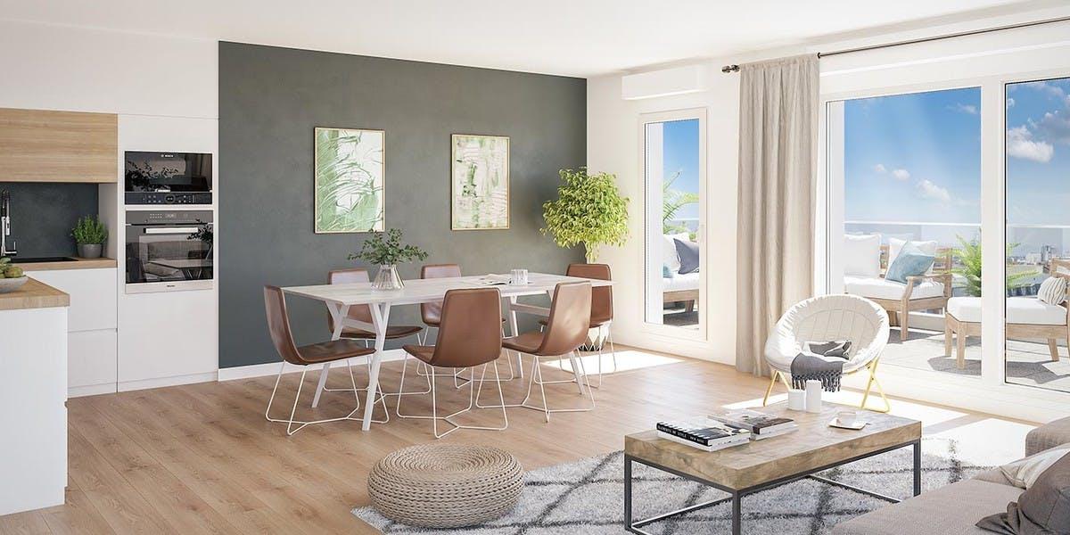 Appartement neuf à vendre à Rosny
