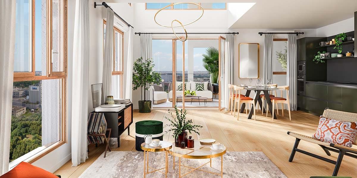 Appartement duplex du programme immobier neuf Rue Vladimir Kramnik à Asnières-sur-Seine