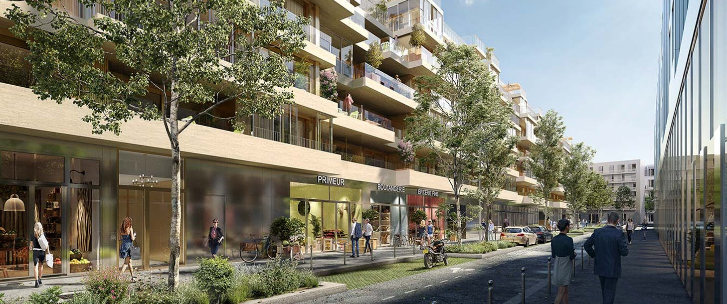 Commerces du programme immobilier neuf Ateliers Vaugirard chapitre 2 à Paris 15