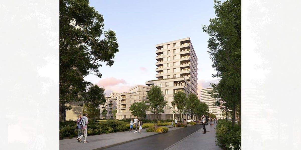 Le programme immobilier neuf Rue Claude Robert à Gennevilliers