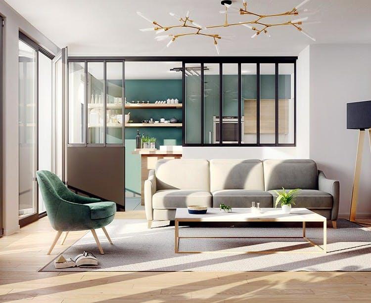 Appartement du programme immobilier Rue Agrippa d'Aubigné à Paris 4
