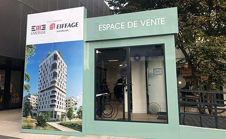 Espace de vente du promoteur immobilier Emerige à Asnières-sur-Seine
