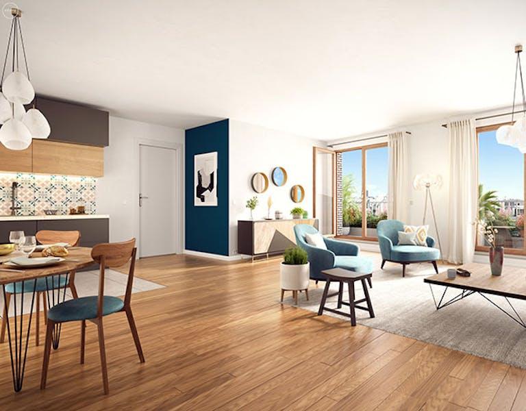 """Programme immobilier neuf à Paris 19 """"Rue Petit"""""""